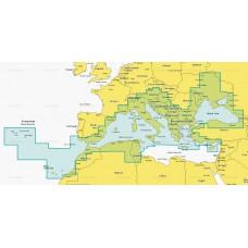 Navionics + 43XG Средиземное море